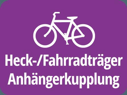 Heck-/Fahrradträger Anhängerkupplung